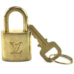Louis Vuitton Gold Keepall Speedy Lock Key Set#334